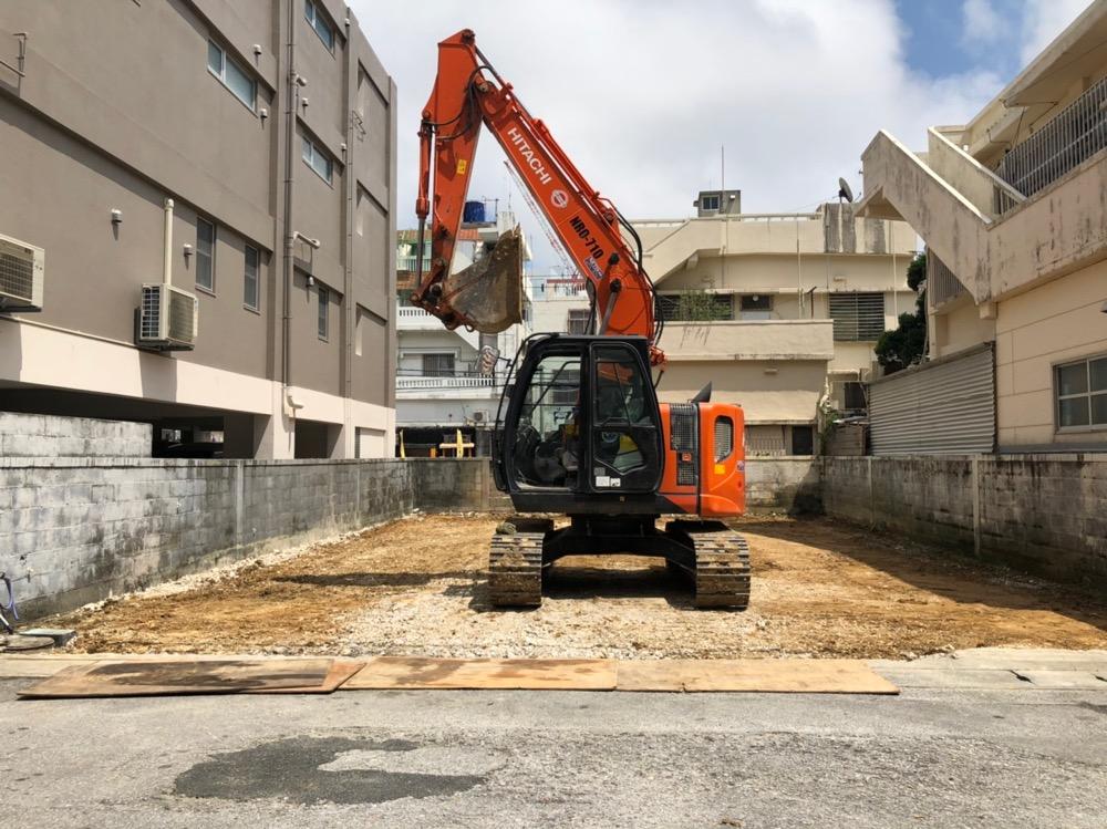 那覇市 一般住宅解体工事