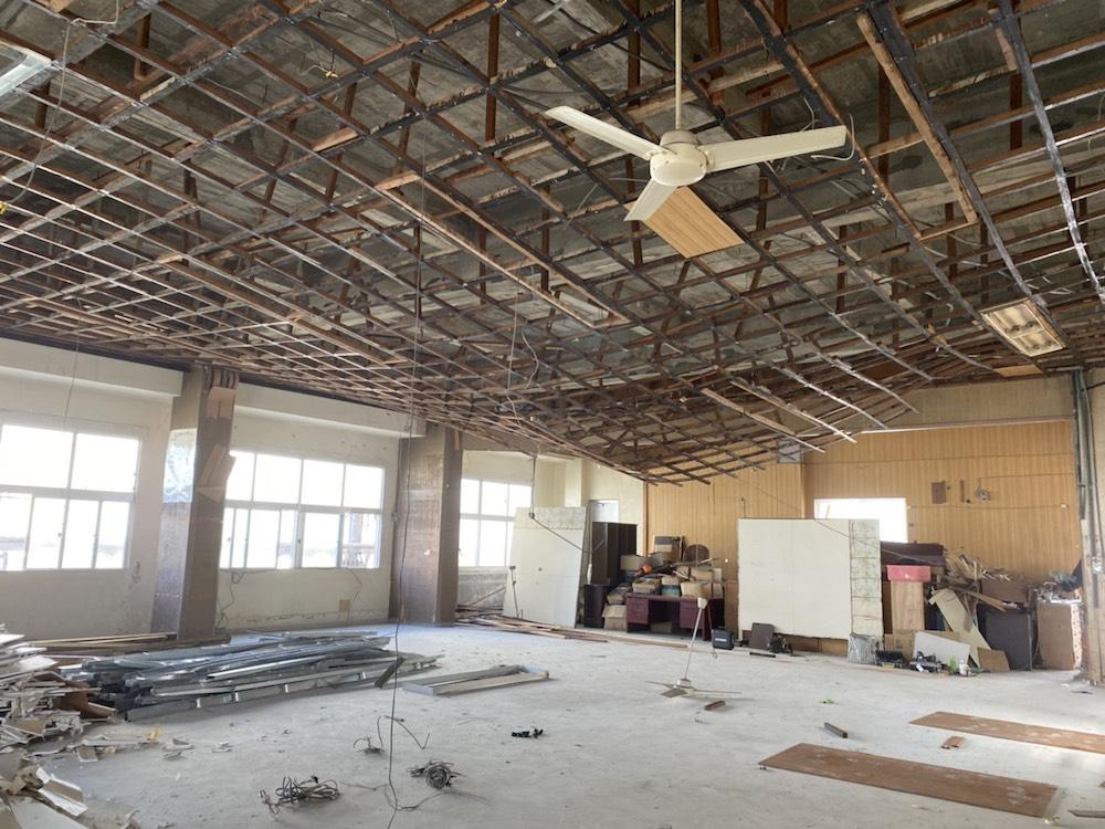 那覇市 商業ビルの解体工事