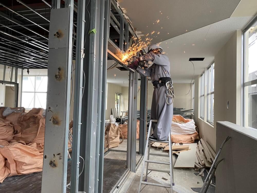 那覇市 モデルルームの解体工事