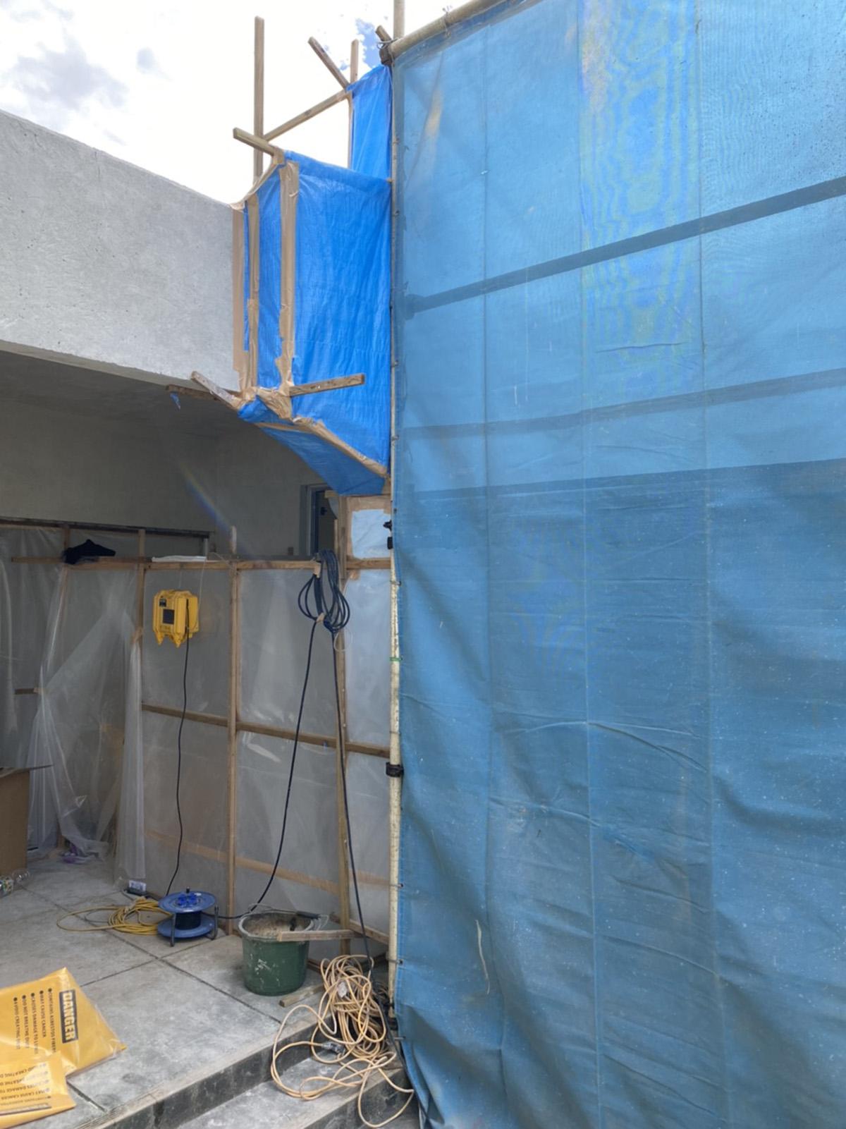 本部町 公共施設の解体工事