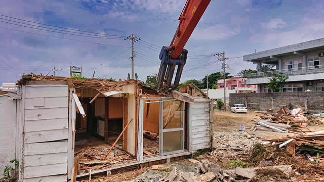 北谷 一般住宅 解体工事