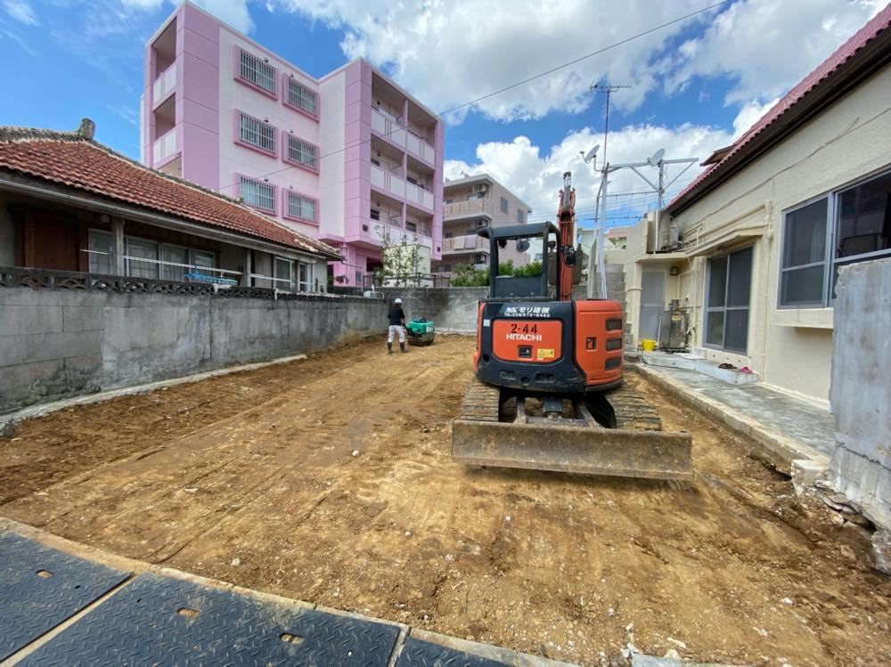 沖縄市 一般住宅 解体工事