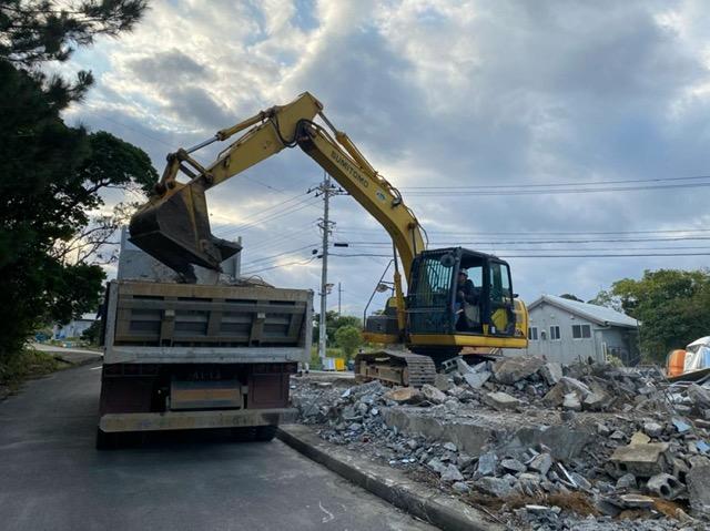 名護市 住宅解体工事