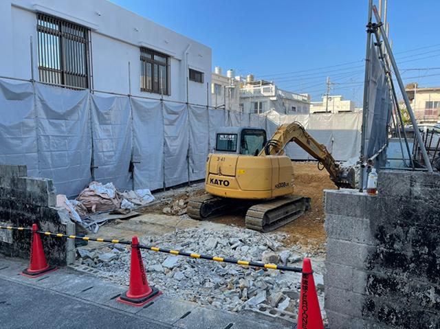 沖縄市 住宅解体工事