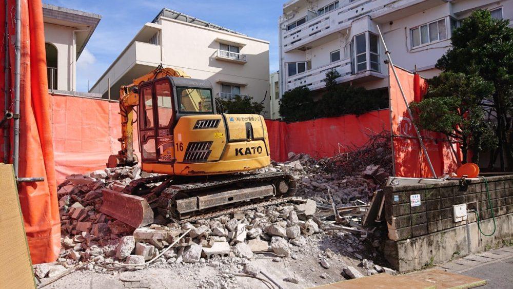 浦添市 一般住宅 解体工事