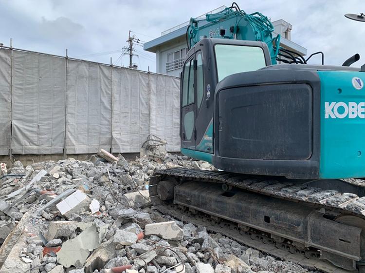 糸満市 一般住宅解体工事