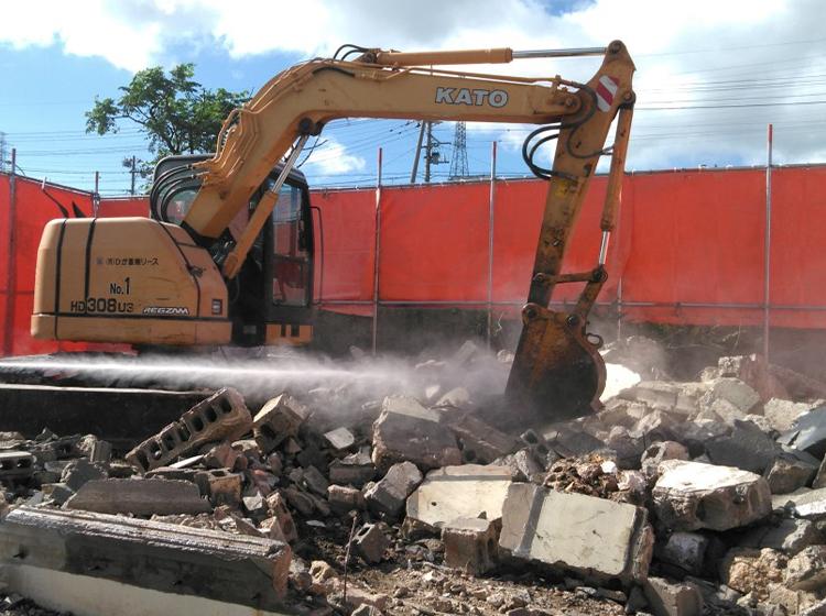 沖縄市 一般住宅解体工事