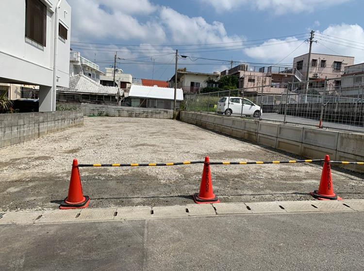 沖縄市 解体工事跡地 整地